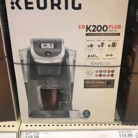 Keurig K200 Coffee Maker $65.99 (after Cartwheel & Gift Card)