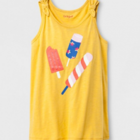 Kids' Tees, Tanks & Shorts only $4