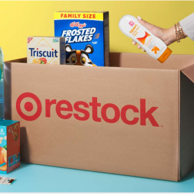 Target Restock Program + Save $5 when you Spend $50