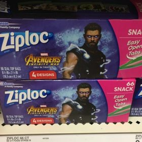 $9 off Fandango Ticket when you buy 2 Ziploc Products