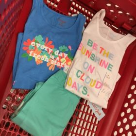 Kids' Tees, Tanks & Leggings only $3.99