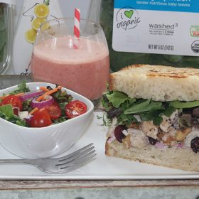 OrganicGirl Salads at Select Target Stores + Sandwich & Smoothie Recipes