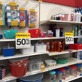Target Seasonal Summer Clearance 50% off