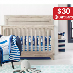$30 Gift Card with $150 Nursery Furniture Purchase + FREE Shipping