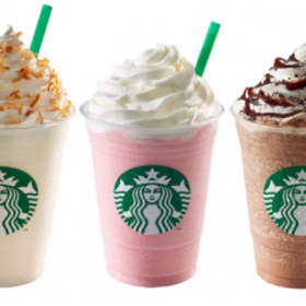 Starbucks Happy Hour – 50% off Frappuccinos (8/10 after 3 pm)