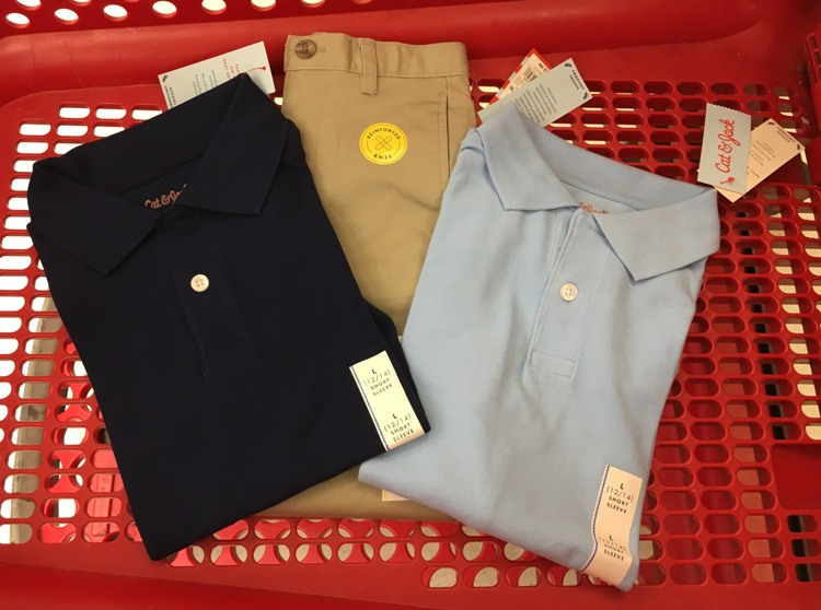 40 Off Kids School Uniforms At Target 811 Only All Things Target