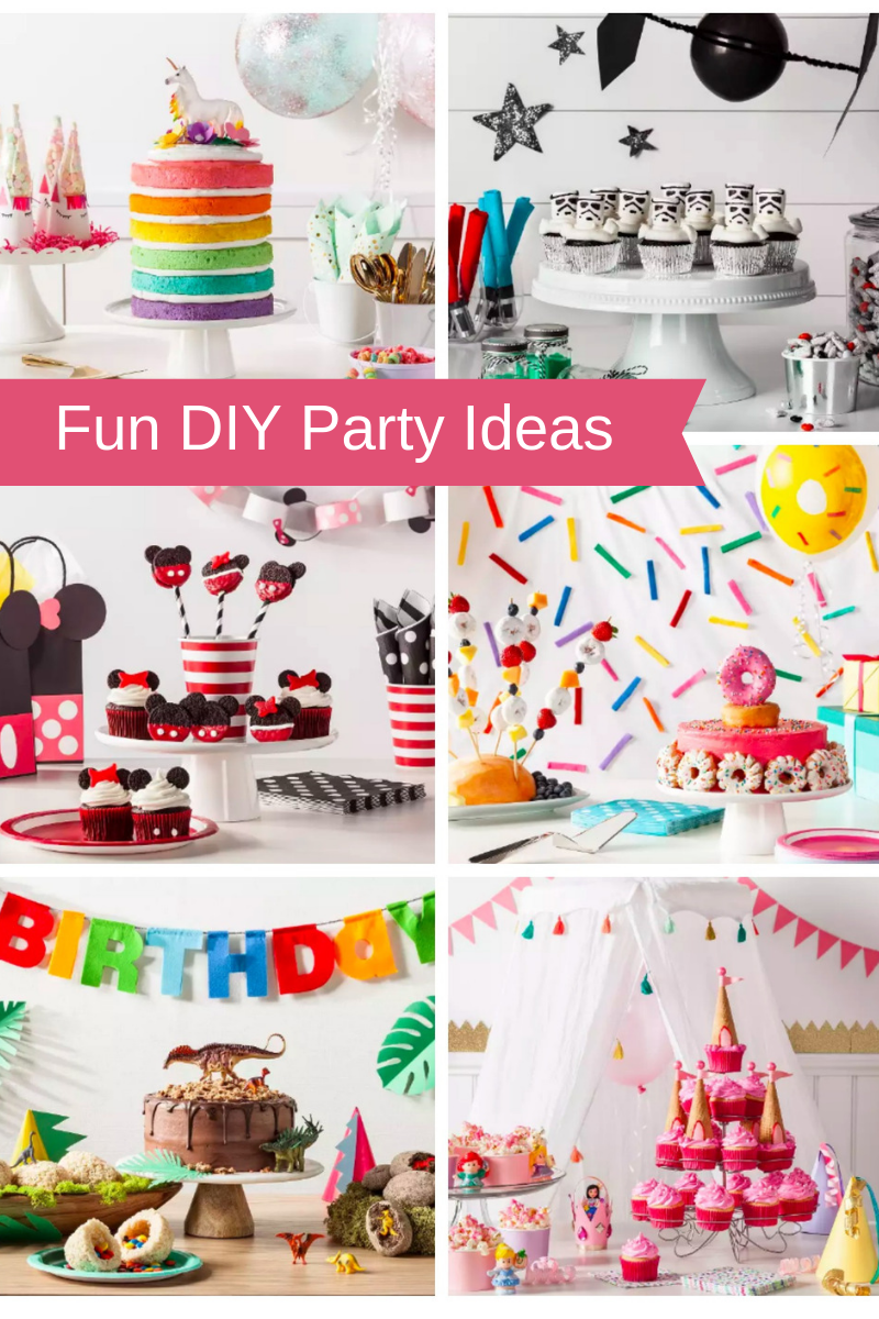 Fun Diy Party Ideas Unicorn Star Wars Dinosaur More All Things Target