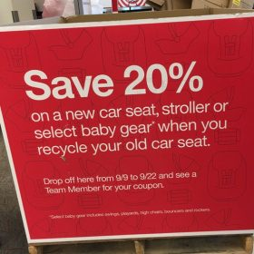 Great Deals on Car Seats & Strollers with Target Car Seat Trade-In