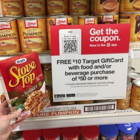 $10 Gift Card with $50 Grocery or Beverage Purchase