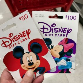 5% off Disney Gift Cards & Other Entertainment Cards with REDcard