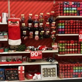 Target Christmas Clearance Details