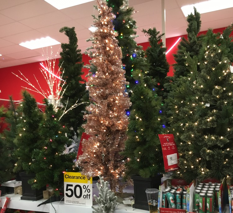 Target Christmas Clearance – Wondershop Trees 50% off & Decor 30% off
