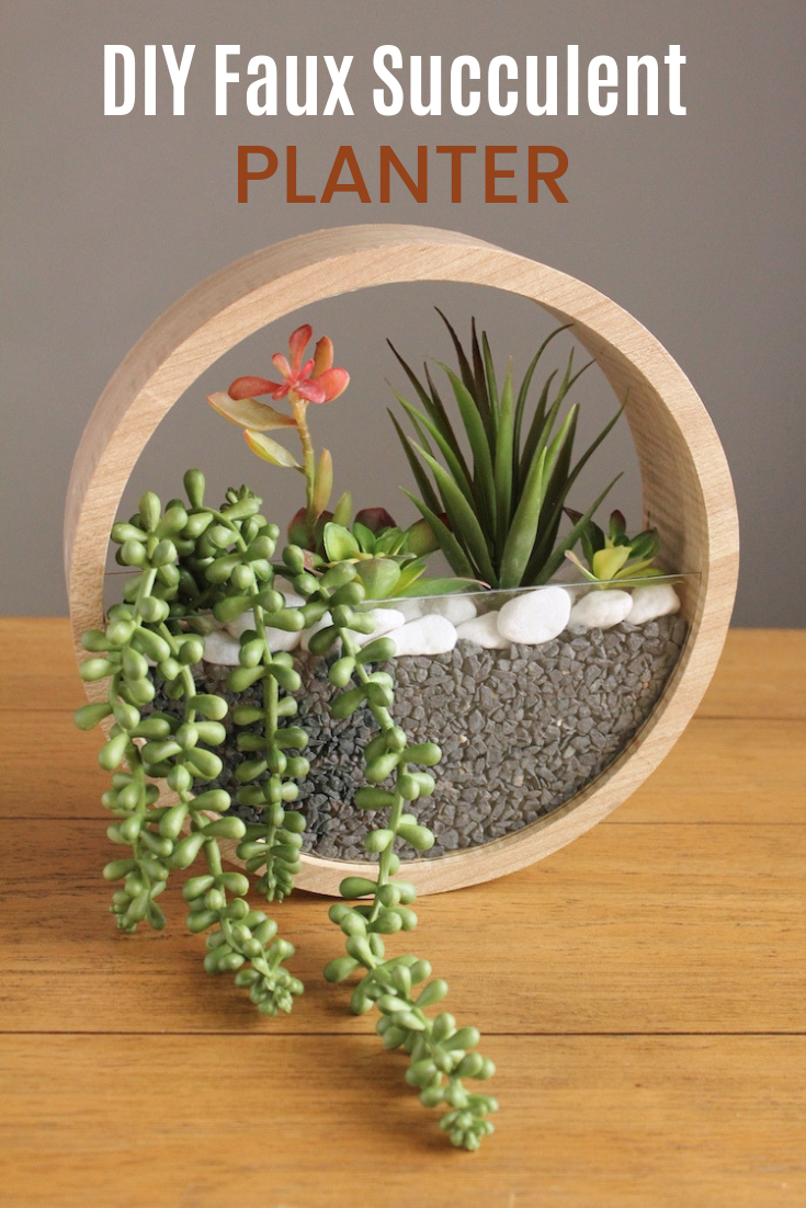 Diy Round Hanging Succulent Planter All Things Target