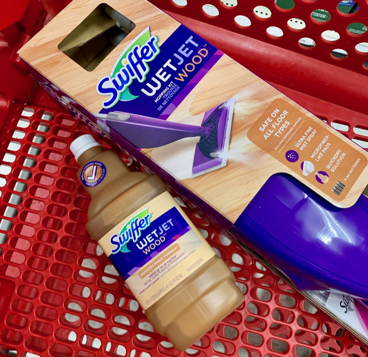 Swiffer Wetjet Wood Makes Summer Cleaning Easy All