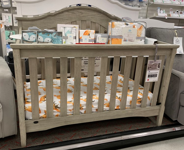 $50 Gift Card With $300 Nursery Furniture Purchase + FREE