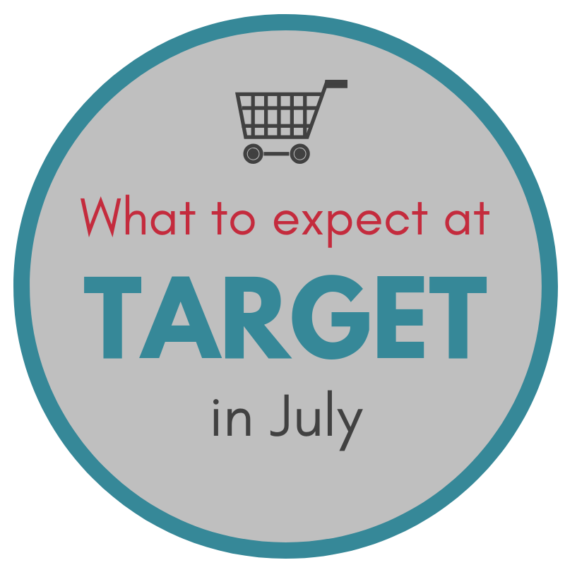 6a9ac457a9b July is a BIG month for clearance deals! It is one of the best months for  saving at Target. Here are some of the sales and clearance deals you can  expect to ...