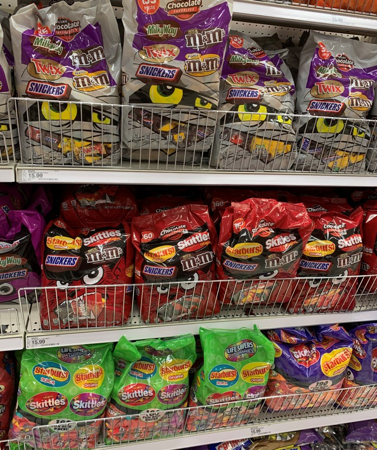 40% off Halloween Candy at Target (9/24 only)