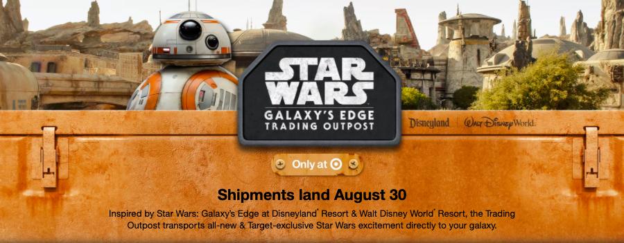 Star Wars Galaxy's Edge at Target
