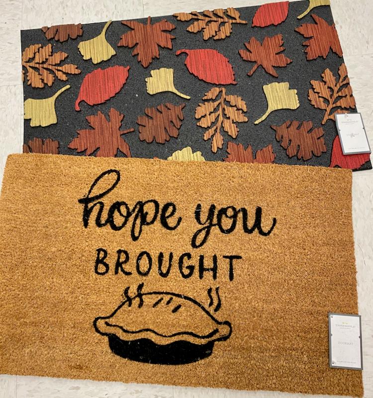 New Fall Doormats at Target | All Things Target