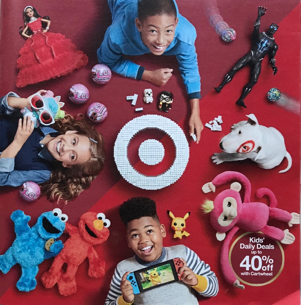 Target Toy Catalog 2018 cover